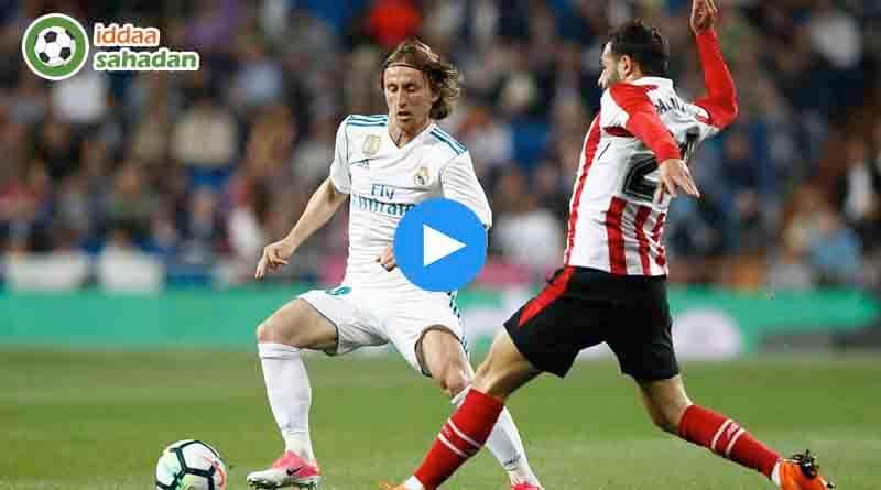 Real Madrid Athletic Bilbao Özet
