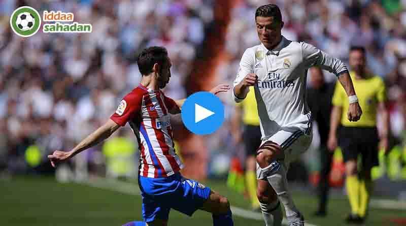 Real Madrid Atletico Madrid Özet