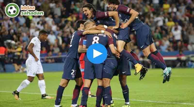 Saint-Etienne PSG Özet