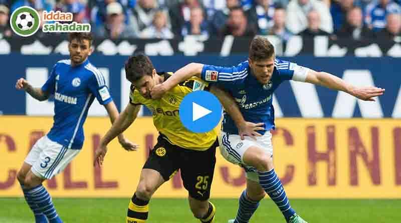 Schalke 04 Borussia Dortmund Özet