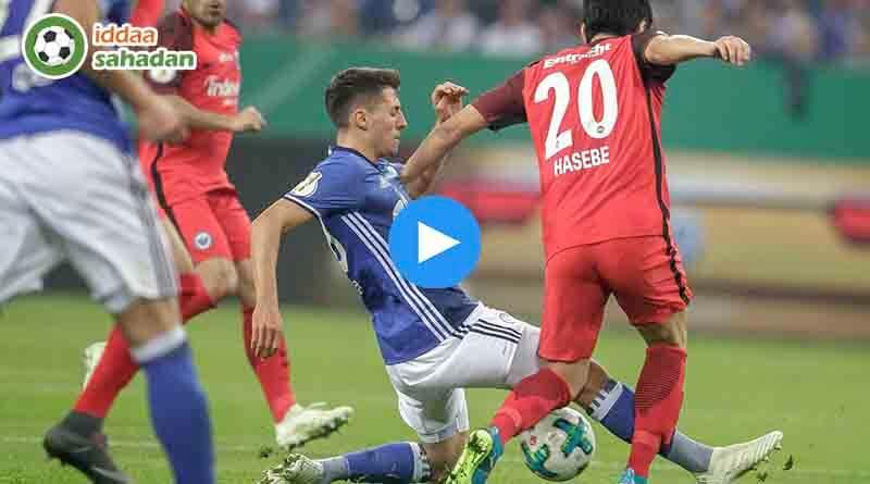 Schalke 04 Eintracht Frankfurt Özet