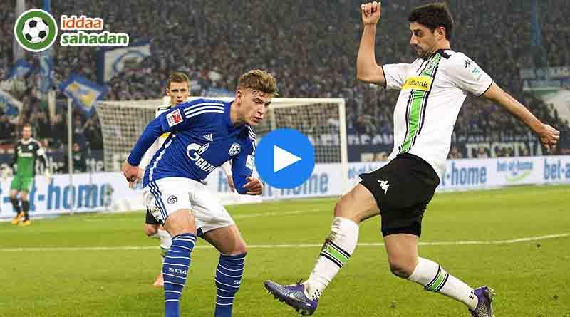 Schalke 04 Mönchengladbach Özet