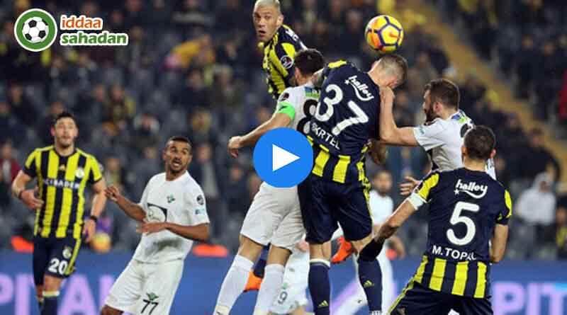 Akhisarspor Fenerbahçe Özet - 2