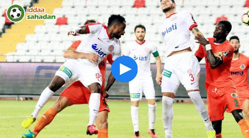 Alanyaspor Antalyaspor Özet