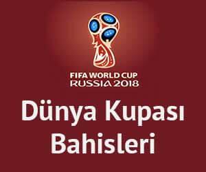 Dünya Kupası Bahisleri 2018