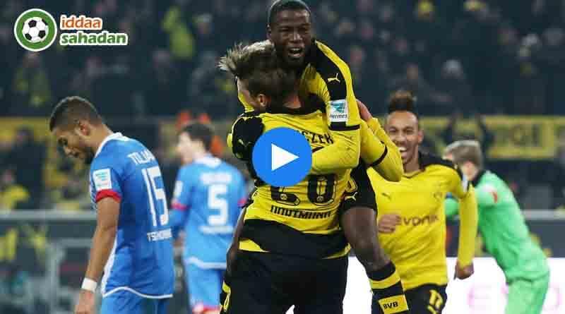 Hoffenheim Borussia Dortmund Özet