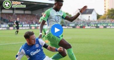 Holstein Kiel Wolfsburg Özet
