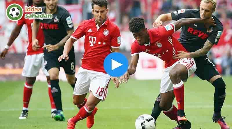 Köln Bayern Münih Özet