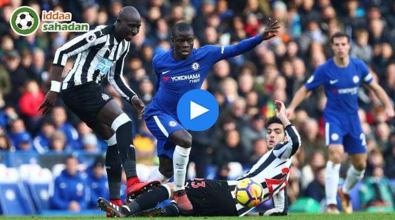 Newcastle United Chelsea Özet