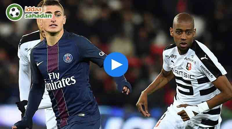 PSG Rennes Özet