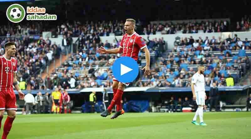 Real Madrid Bayern Münih Özet