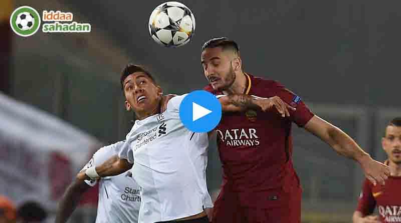 Roma Liverpool Özet