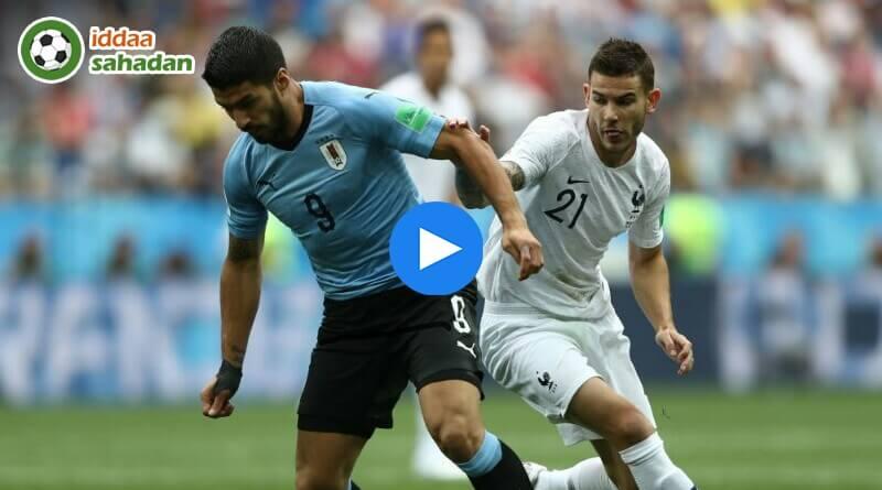 Uruguay Fransa Özet