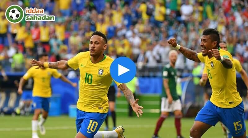 Brezilya Belçika Özet
