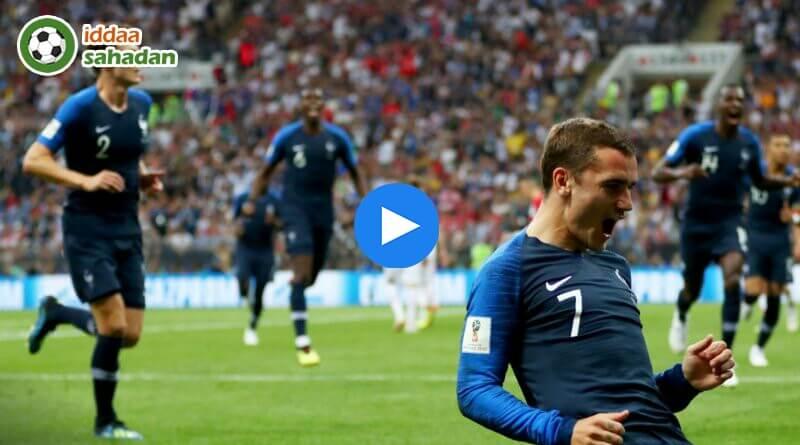 Fransa Hırvatistan Özet