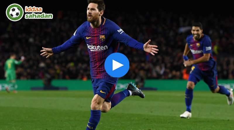 Barcelona Deportivo Alaves Özet