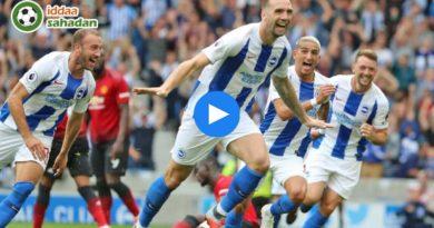 Brighton Manchester United Özet