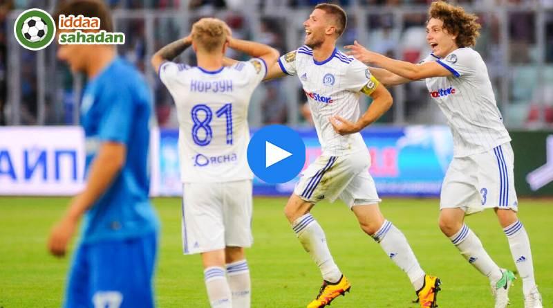 Dinamo Minsk Zenit St. Petersburg Özet