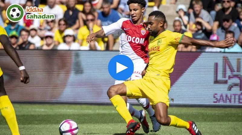 Nantes Monaco Özet