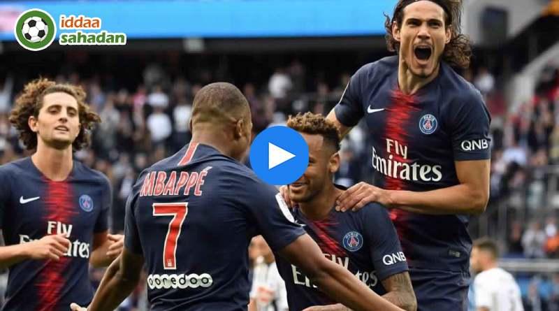 Nimes Paris Saint-Germain Özet
