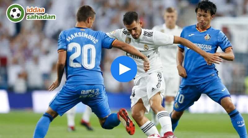 Real Madrid Getafe Özet