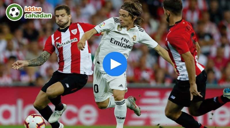Athletic Bilbao Real Madrid Özet