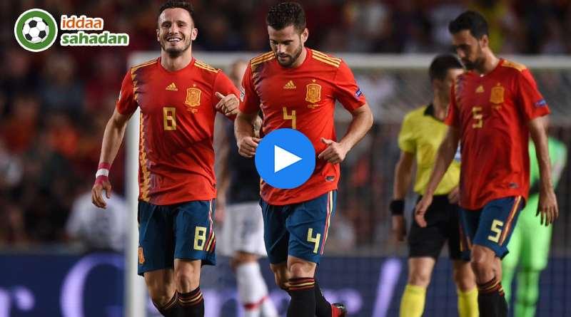 İspanya Hırvatistan Özet