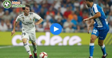 Real Madrid Espanyol Özet