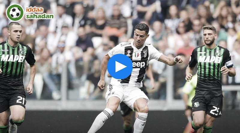 Juventus Sassuolo Özet