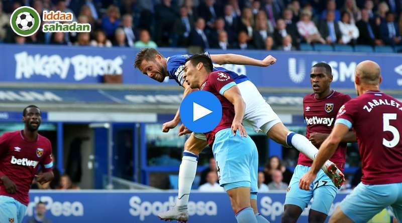 Everton West Ham United Özet