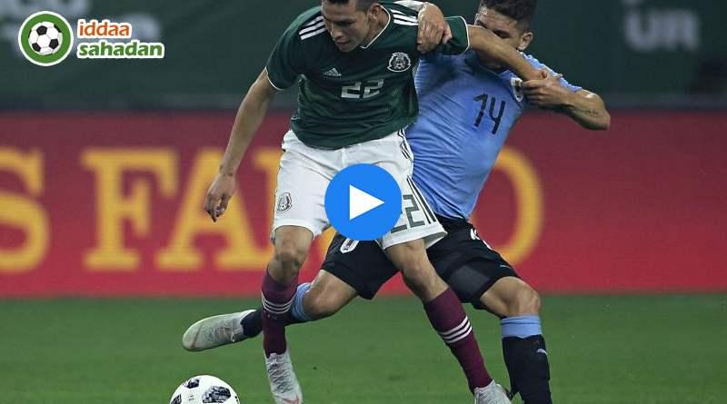 Meksika Uruguay Özet