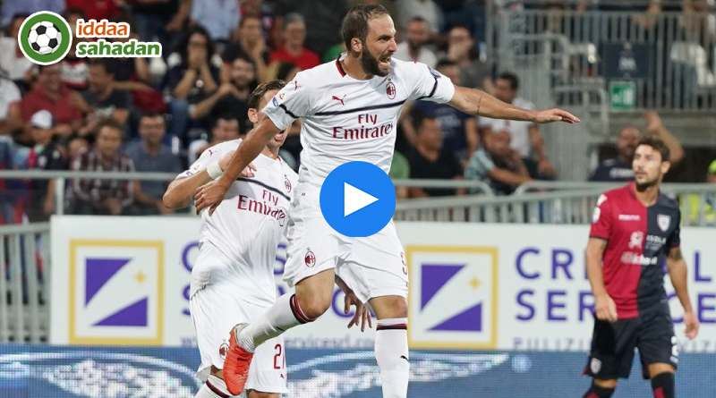 Cagliari Milan Özet