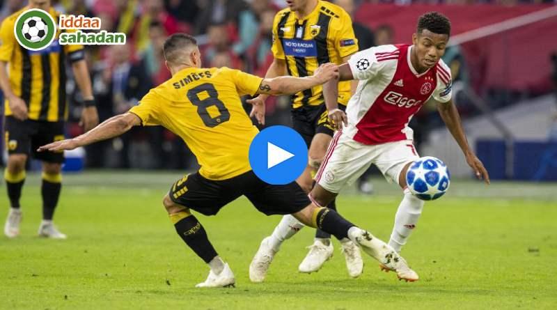 Ajax AEK Atina Özet