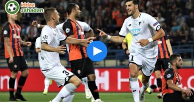 Shakhtar Donetsk Hoffenheim Özet