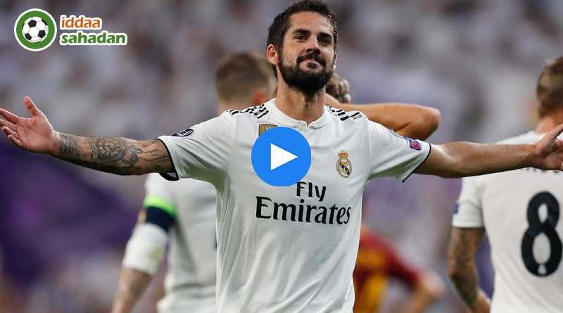 Real Madrid Roma Özet