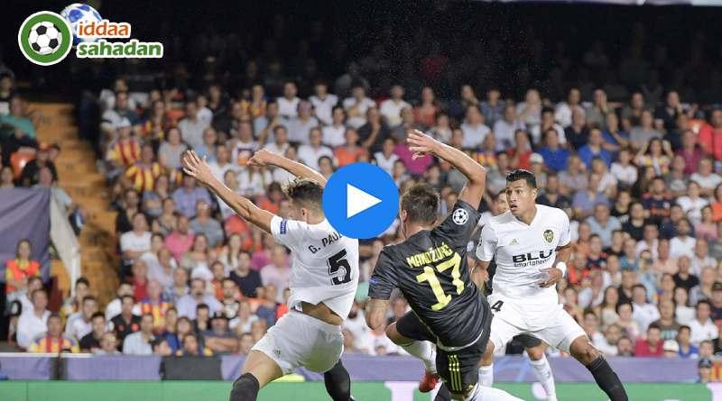 Valencia Juventus Özet