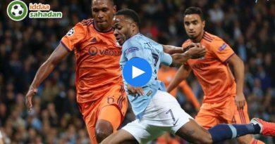Manchester City Lyon Özet