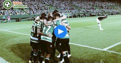Sporting Lisbon Qarabağ Ağdam Özet