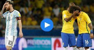 Brezilya Arjantin Özet