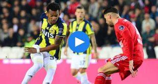 Sivasspor Fenerbahçe Özet