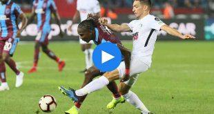 Trabzonspor Erzurumspor Özet