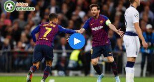 Tottenham Barcelona Özet