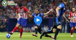Atletico Madrid Club Brugge Özet
