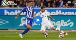 Deportivo Alaves Real Madrid Özet