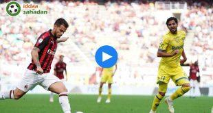 Milan Chievo Özet