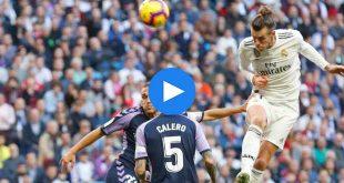 Real Madrid Valladolid Özet