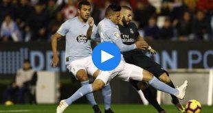 Celta Vigo Real Madrid Özet