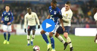 RC Strasbourg Paris Saint-Germain Özet