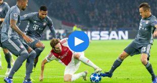 Ajax Bayern Münih Özet