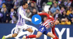 Valladolid Atletico Madrid Özet